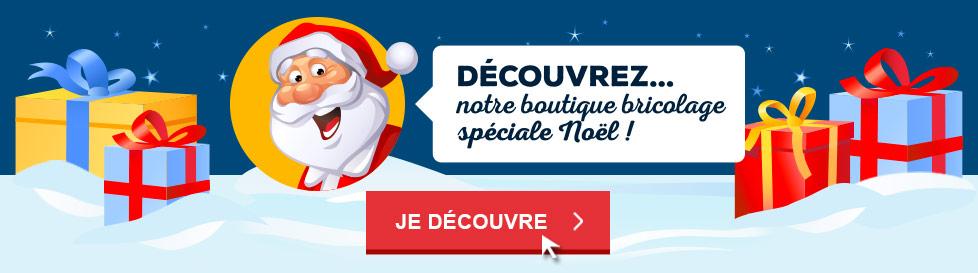 Découvrez notre boutique bricolage spéciale Noël !
