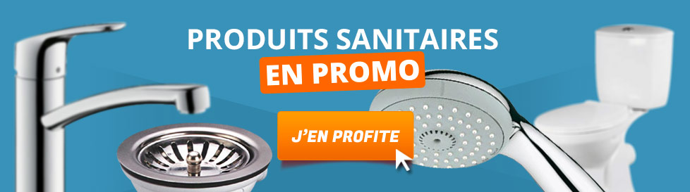 Produits sanitaires en promo