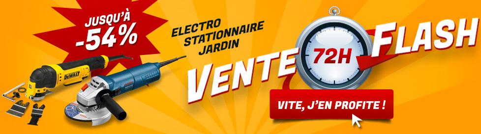 Vente flash electro jusqu'à -54% !